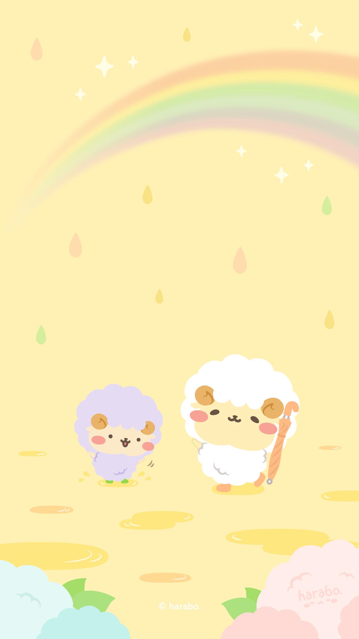 雨上がりの虹 その2