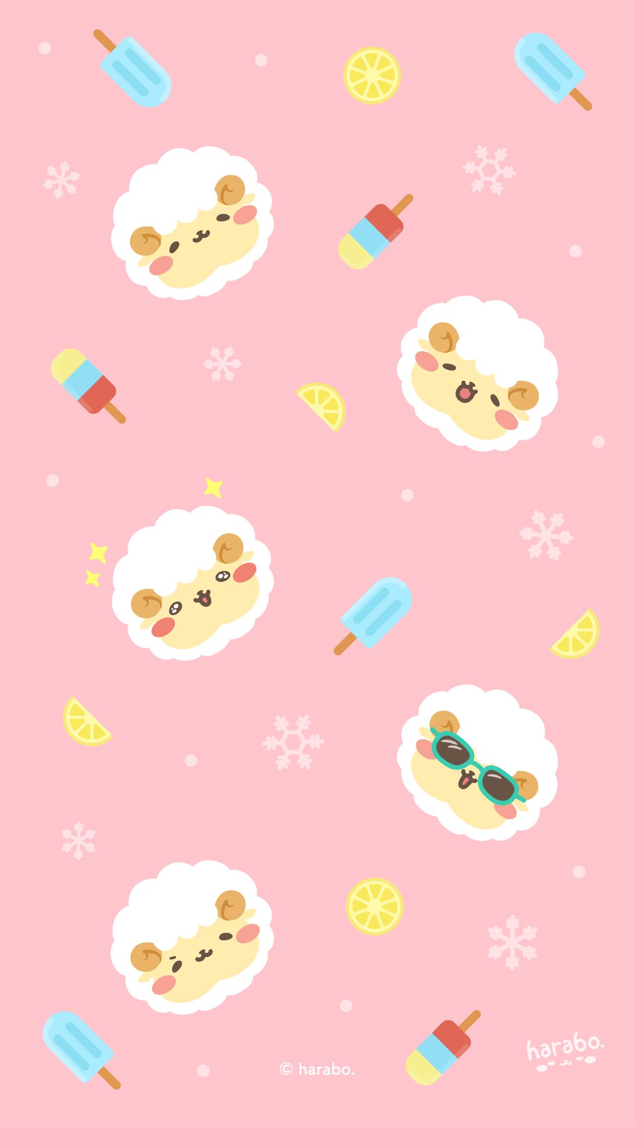 アイスとモフボさんのパターン vol.02