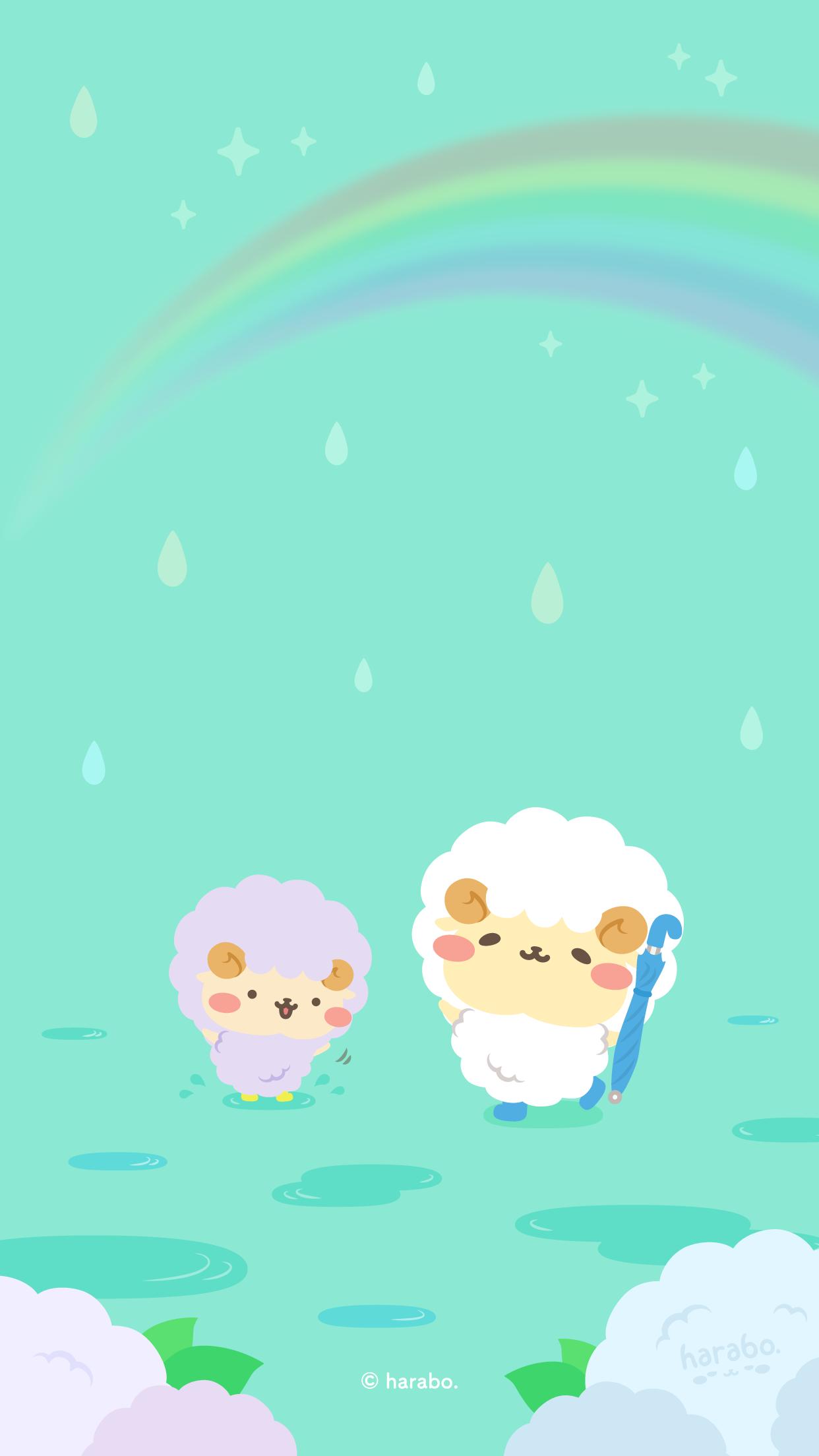 雨上がりの虹 その1