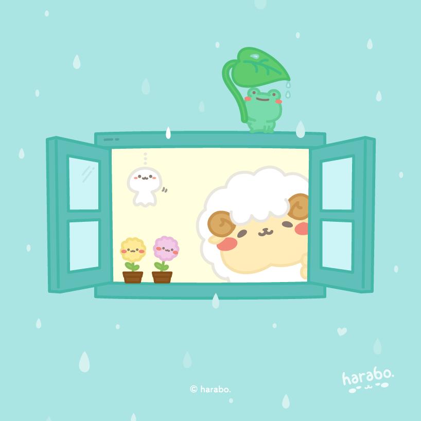 雨の日の窓から vol.01